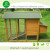 Durable large size easy clean wooden coops for chickens