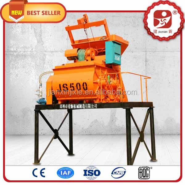 New performance type high efficiency electric automatic twin shaft self loading concrete mixer in dubai