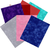 The most popular craft velvet paper with paper back
