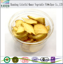 Dried apple chips and fruit chips with customer logo