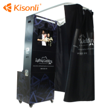 LCD Cheap Selfie Software Mirror Printing Kiosk Portable Wedding/Party Used Photo Booth For Sale