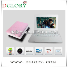 "DG-NB1001 10.2"" netbook VIA8850 resolution 1024*600 512MB/4GB barrtery 3200mAh laptop"