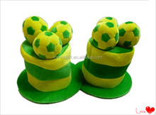 National Flag Battery Tall Top Hat World Cup Football Hat