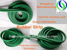 "Green Extrusion Machine Seals ""m"" Shape FKM Rubber Strip"