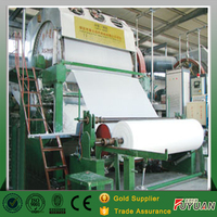 Toilet tissue paper manufacturing machine making equipment , small toilet paper making machine