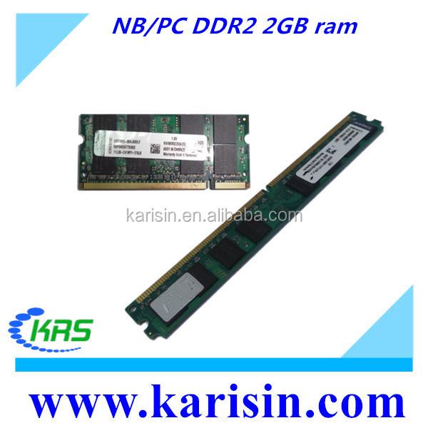 Factory Price Desktop Laptop Memory Ram Ddr2 2gb 800mhz No
