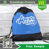 Lead Free Practical Recyclable Drawstring Bag/straw string school bag