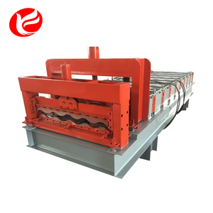Cement ibr glazed tile roof iron glazed tile sheet making machine
