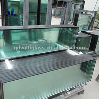 Double pane tempered glass,Triple Tempered Insulated Low-e Glass thermal pane glass