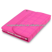 Hot sells Folio With Stand Wallet Case For iPad 2/3/4,Smart Case For Ipad 2/3/4