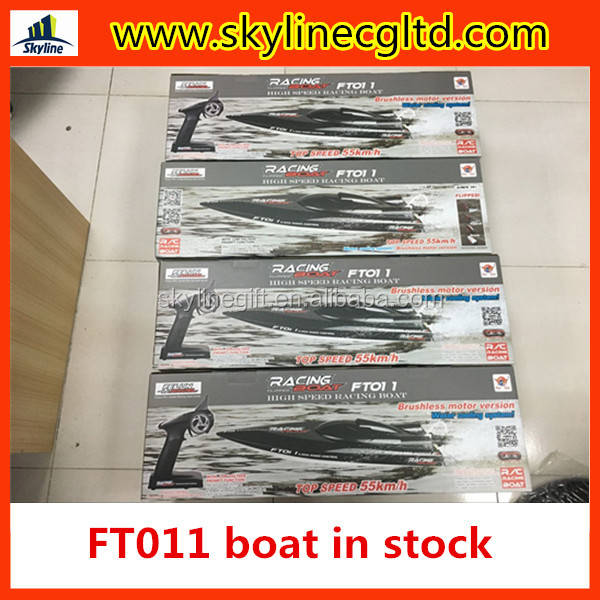 In stock FT011 2.4G high speed boat brushless