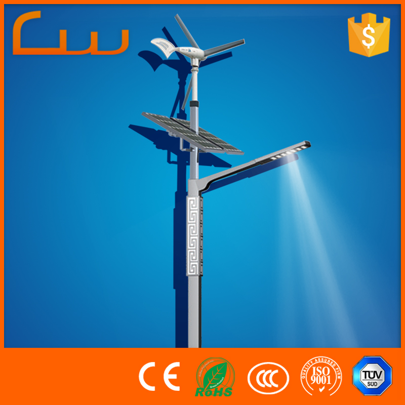 Countryside street wind hybrid lamps solar panel LED lights