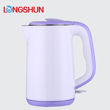 1.8L wholesale stainless steel large wide mouth electric tea pour-over kettle with rotating tray