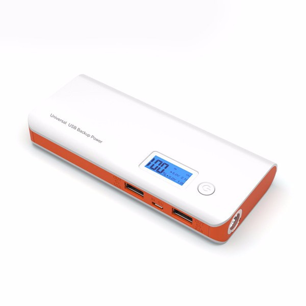 Harga 12000mah mobile power bank for samsung with led outdoor lighting