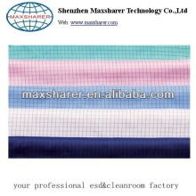Polyester static control fabric