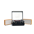 top load cd player audio suitcase turntable record player with usb sd bluetooth'S MP3