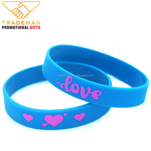 China factory one inch fat large size rubber bracelet silicone wristband printing machine