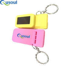 Outdoor Emergency Sports Survival Led Light Whistle Key Ring