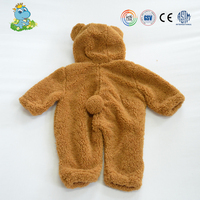 Wholesale Cute bear Long sleeve Baby Clothing babyJumpsuit Romper