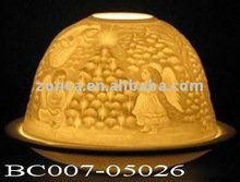 ceramic candle holder-Dome shape-BC007-05026