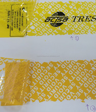 Customized Security Seal Tape Void Tape