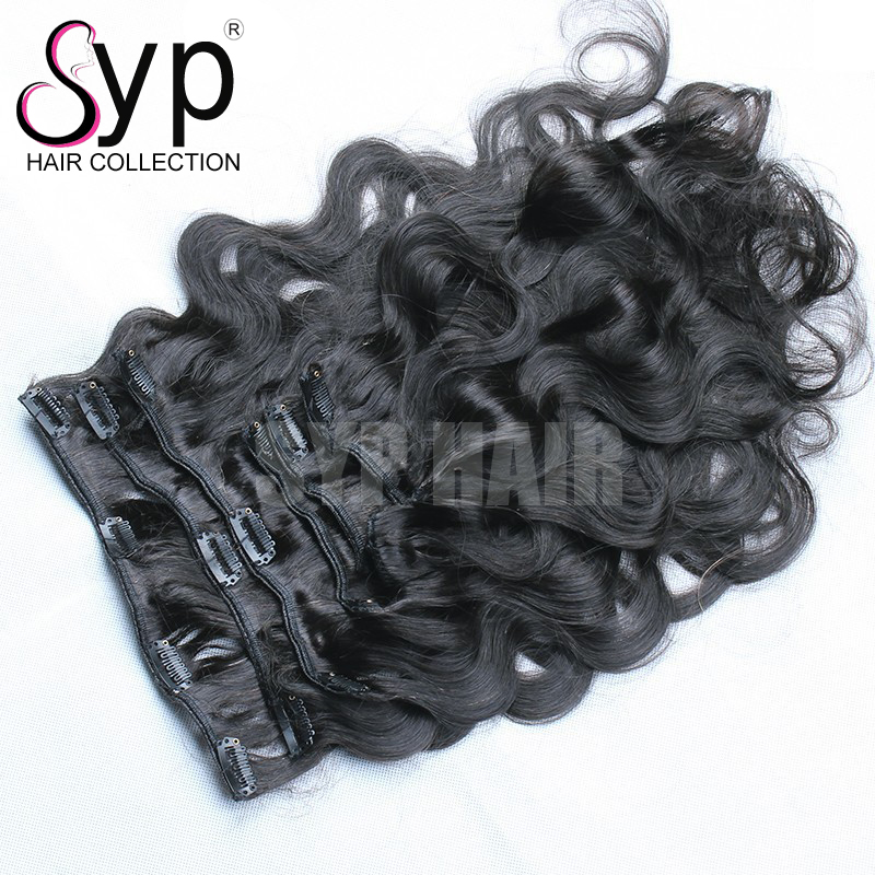 Clip In Hair Exstentions Extensions 22 Inch On Short Hair Australia Cheap Online Natural Black Grade 8A