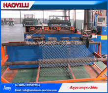 plc control fully-automatic chain link fence machine (20 years factory)