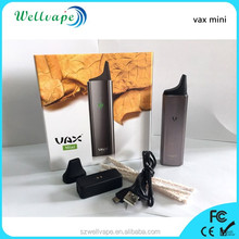 Wellvape stylish and hot Vax Mini dry herb and wet vaporizer