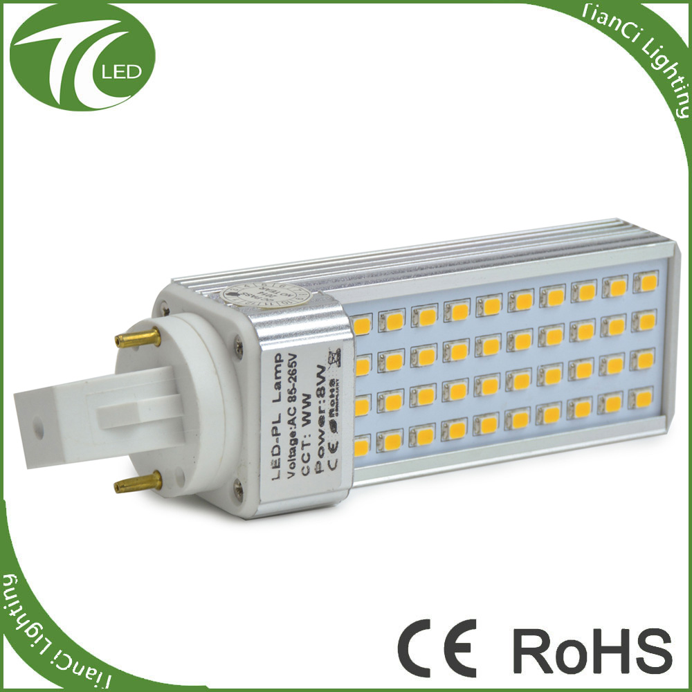 High quality good quality LED PL lamp 13W G24 E27 dimmable light