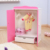 "New Design Pink Wooden Doll Wardrobe, Wholesale 18"" Doll Furniture With High Quality"