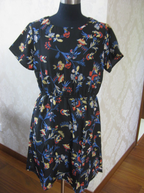 Printed dress of cheap china bulk wholesale clothing