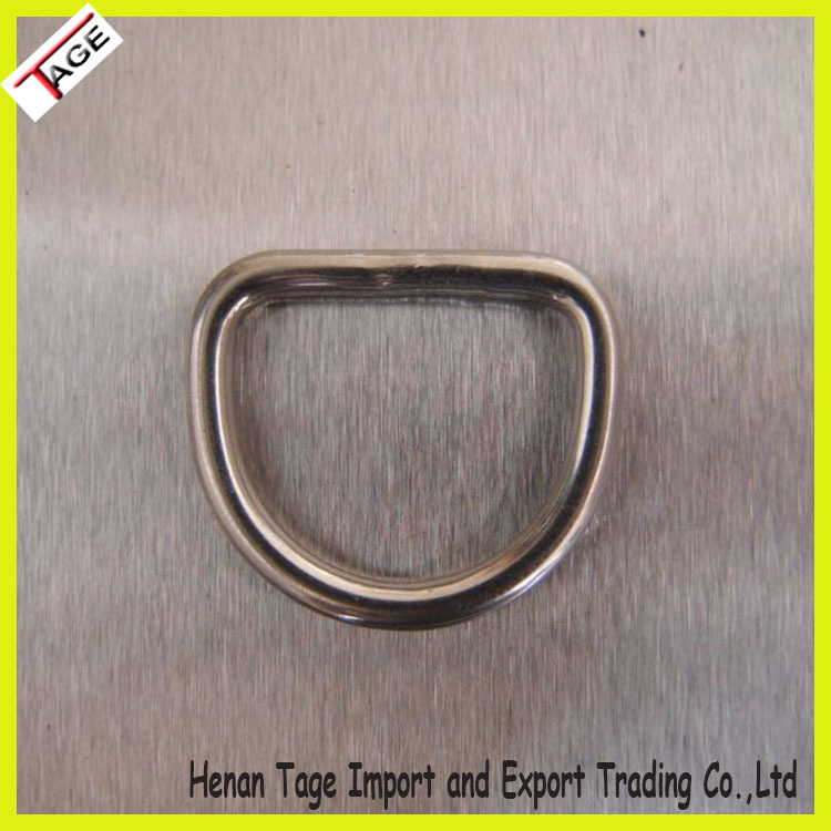Stainless steel welded rigging hardware round ring / D ring/ O ring for sale