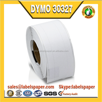 "Dymo Compatible 30327 - 9/16"" x 3-7/16"" White 1-up File Folder Labels (8 Rolls - 130 Labels Per Roll)"