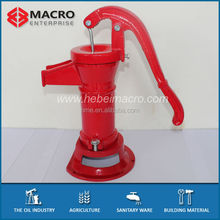 Manual Pitcher Water Pumps/Hand Operated Water Hand Pump for Wells