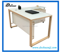 Made in China good quality example of glass office desk office furniture