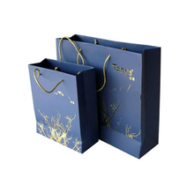 Trade assurance recycle kraft paper tote recycled shopping bag