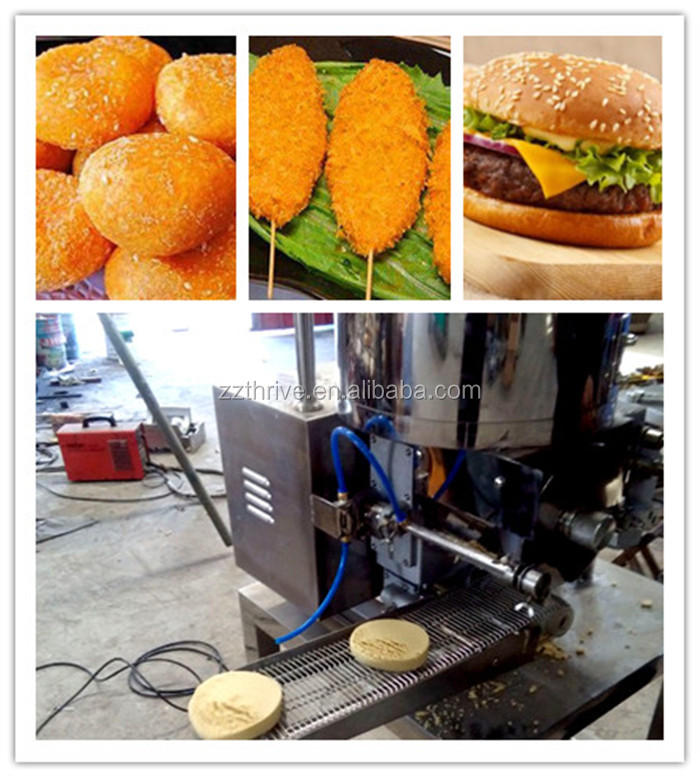 Stainless steel burger patty press maker, mutton Burger patty former machine with high efficiency