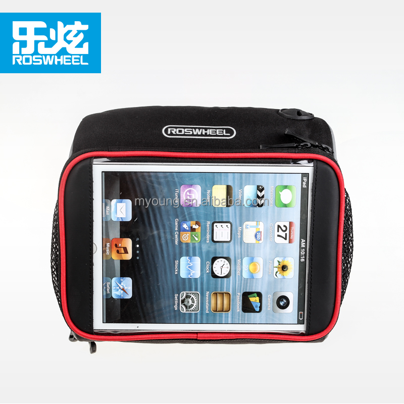 Wholesale ROSWHEEL Bicycle handlebar bag with touch screen for ipad mini