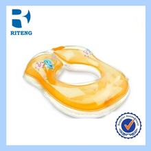 promotional high quality cute inflatable donut adults baby swim ring