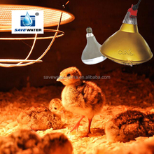 Poultry/livestock heater lampe infrared heat lamp animal infrared heating lamp for chicken house pig farm