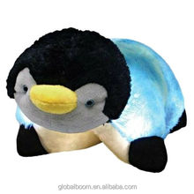 Flashy Plush Penguin Glow Pet LED Lighted Pillow for Boys & Girls