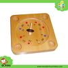 Wooden Farm Roulette Board Game, New Toys for Kid 2016 Children Educational Toys