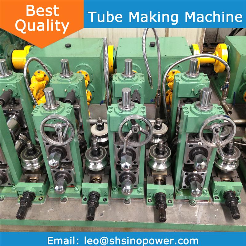 SP series straight seam tube mill line with high quality