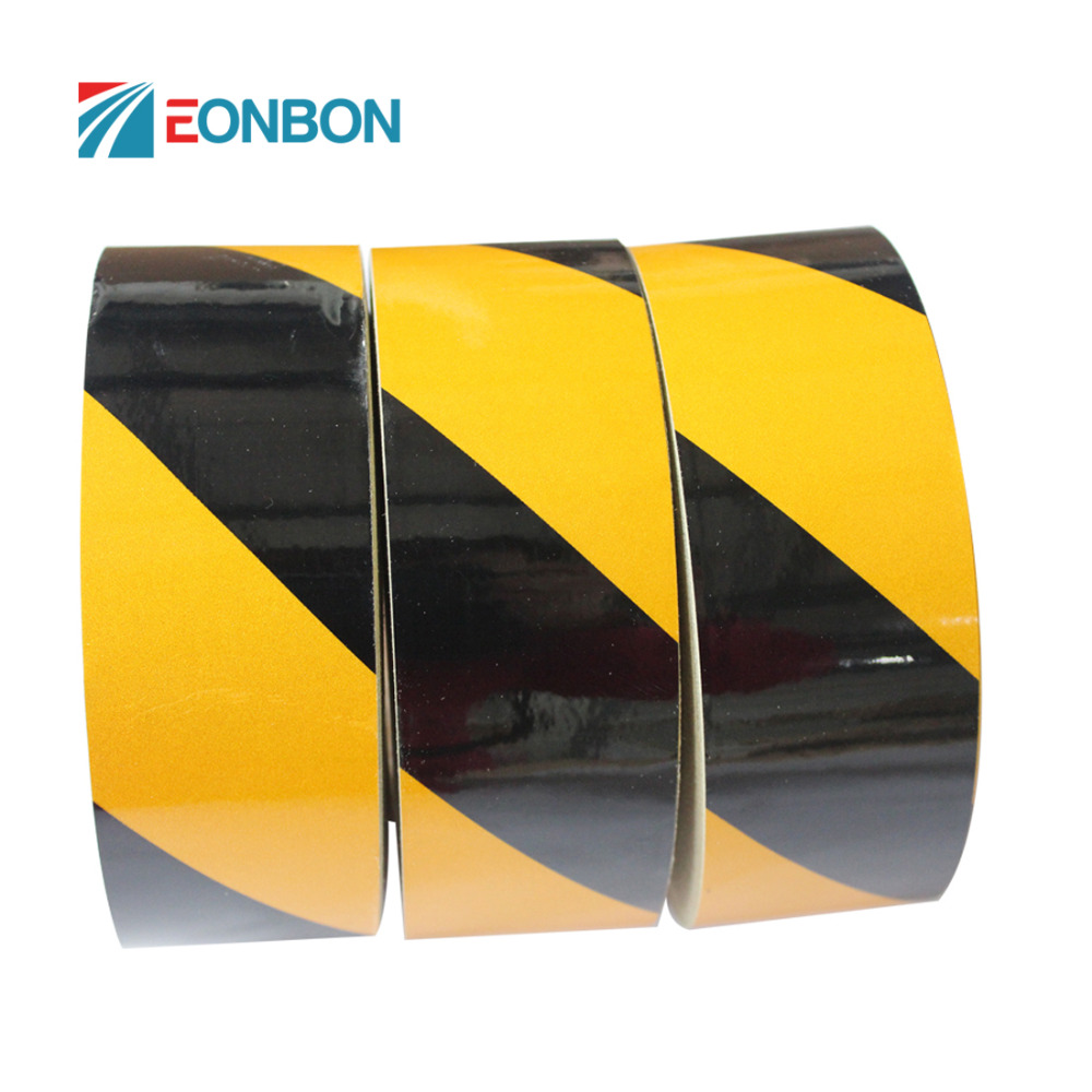 5cmx45.7m china suppliers high quality acrylic <strong>PVC</strong> Reflective Tape with BSCI