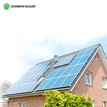 Sunway 5kw 10kw 20kw 80kw Solar System Solar Panel Home Roof Installation Complete PV System