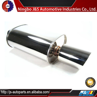 Inlet Stainless Steel Exhaust Resonator Muffler