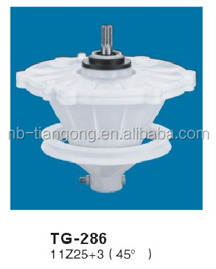 Gearbox for washing machine