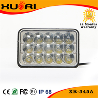 Guangdong Factory Supplier Direct Sale Customized Logo Accepted 5 inch Square 45w LED Car Driving Light