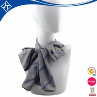 Wholesale dyeing or dying high quality white silk scarves design