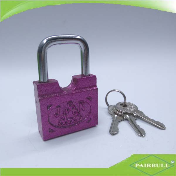manufacturer cheap price cable 25mm cub beam die-casting door guard padlock